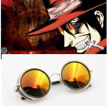 Anime HELLSING Alucard cosplay prop Vampire Hunter Glasses Orange Sunglasses for Men Women - DISCOUNT ITEM  30% OFF All Category