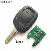 Clave para Renault Twingo Clio Kangoo Maestro remoto de Alarma de Coche Fob 433 MHz con la Viruta ID46 PCF7946