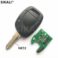Remote Key For Master Kangoo Clio Twingo Car Alarm Fob 433MHz With Chip ID46 PCF7946