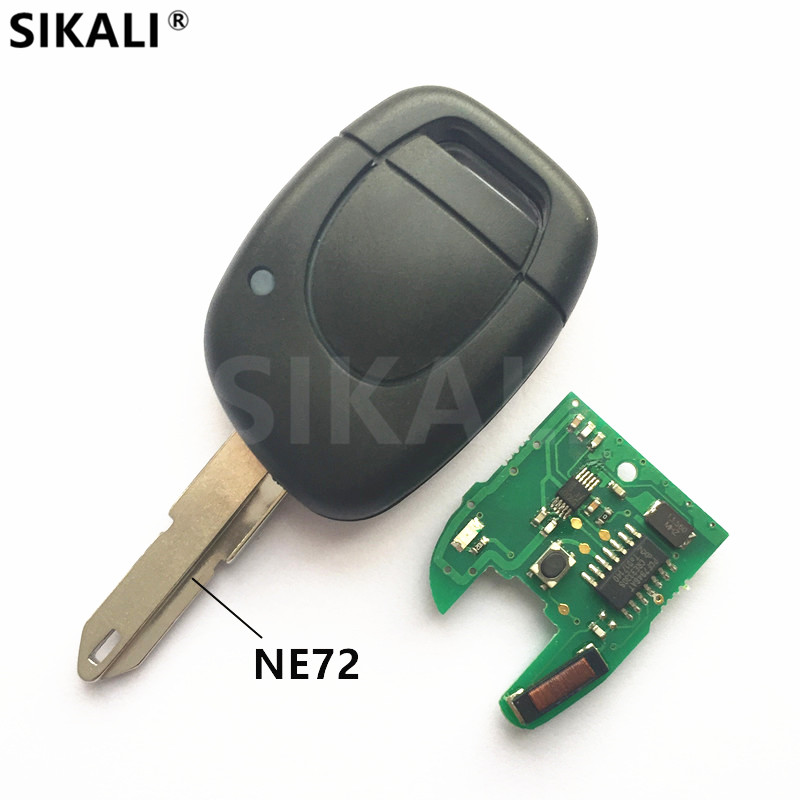 Remote <font><b>Key</b></font> for Renault for Master Kangoo Clio Twingo Car Alarm Fob 433MHz with Chip ID46 PCF7946