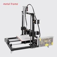 Полный металлический каркас RepRap i3 Лучшая цена 3D Принтер Комплект