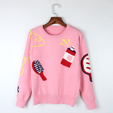 2017 Men Sweater Sudaderas Pullover Men Round Neck Long Sleeve Knit Top Comb Design Loose Set Of Female Rabbit Clothes Coat