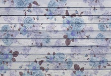 Laeacco Flowers Pattern Wooden Boards Planks Texture Photography Background Vinyl Seamless Digital Backdrops For Photo Studio