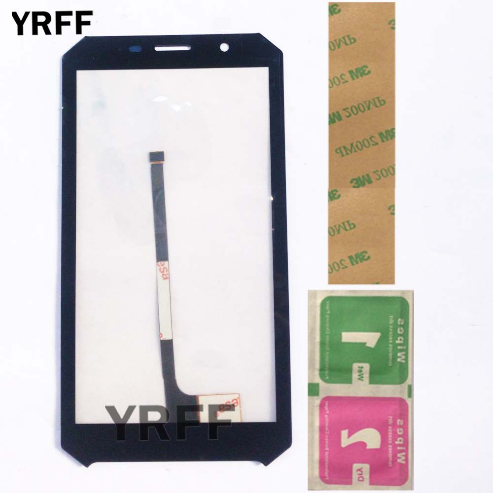 5.2'' Touch Screen Panel For Doogee S60 Touch Screen Digitizer Panel Repair Parts Touch Screen Front Glass Sensor Adhesive Wipes|Mobile Phone Touch Panel| |  -