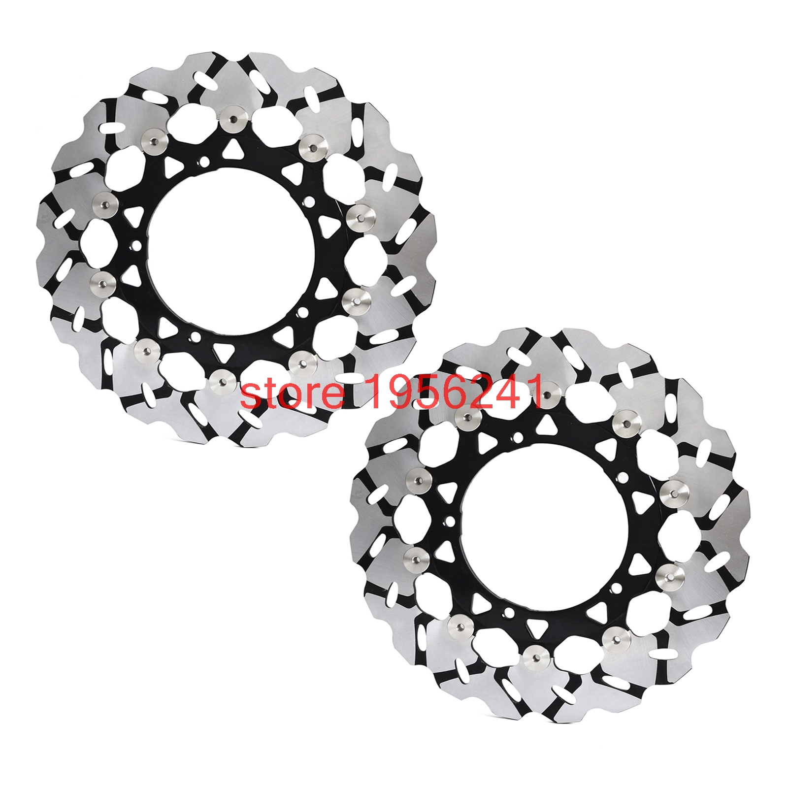 Motorcycle Front Brake Disc Disk For Yamaha FZ1 2006-2014 FZ1000 Fazer ABS 2007-2012 YZFR1 YZF-R1 2004 2005 2006 YZF R1 NEW motorcycle fender eliminator tidy tail for yamaha yzf r1 yzf r1 yzfr1 2004 2005 2006 2007 2008 2009 2010 2011 2012 chrome