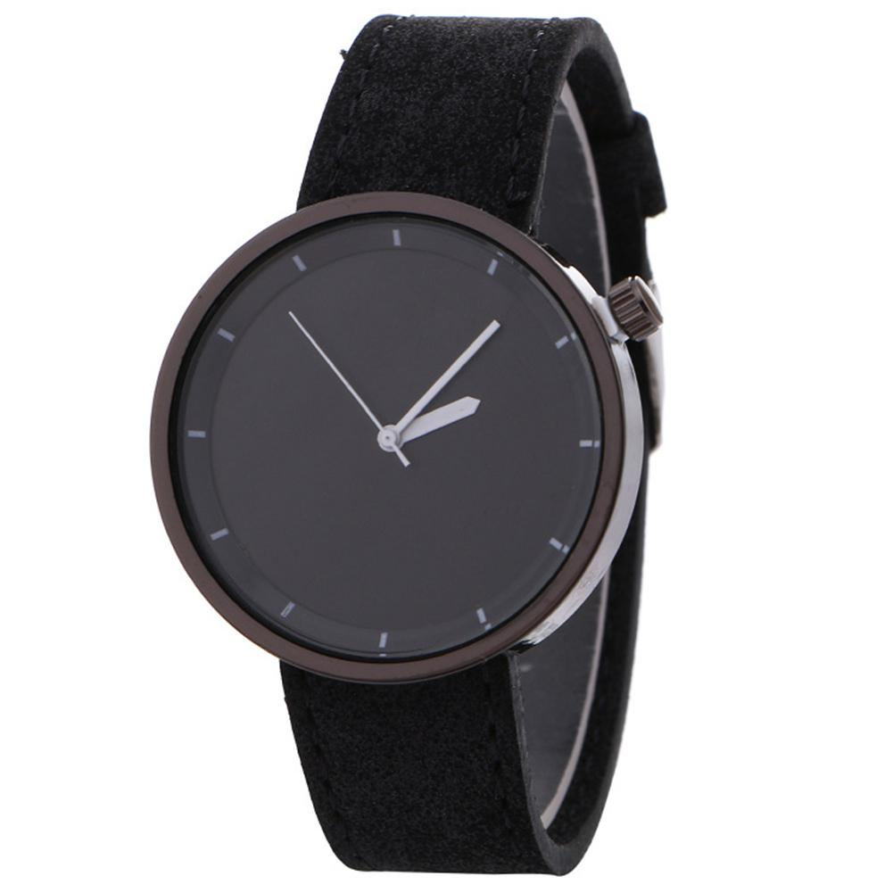 LinTimes Women Men Couple Watches Fashion Casual Denim Watch Band Large Dial Unisex Watch For Female Male Lovers