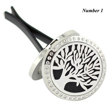 (free 10pcs Felt Pads)30mm 316L stainless steel magnetic oil diffuser  aromatherapy locket pendant