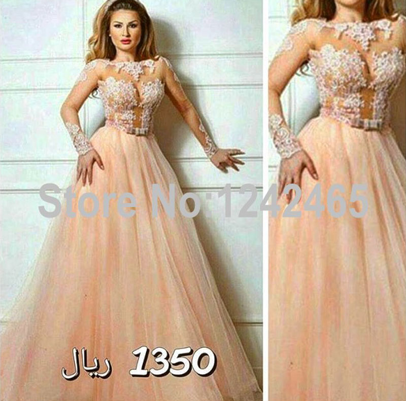 Aliexpress.com : Buy Cheap Sexy Long Sleeve Evening Dresses Floor ...