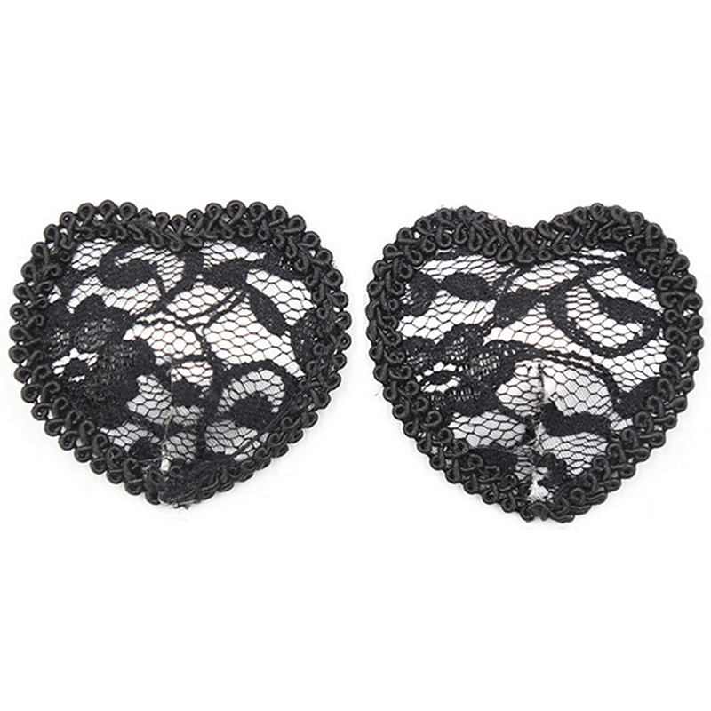 Sexy Women Erotic Nipple Cover Lace Sticky Bra Pads Reusable Nipples Pasties Breast Petals Sticker Fetish Cubre Pezones in intimates 39 accessories from Underwear amp Sleepwears