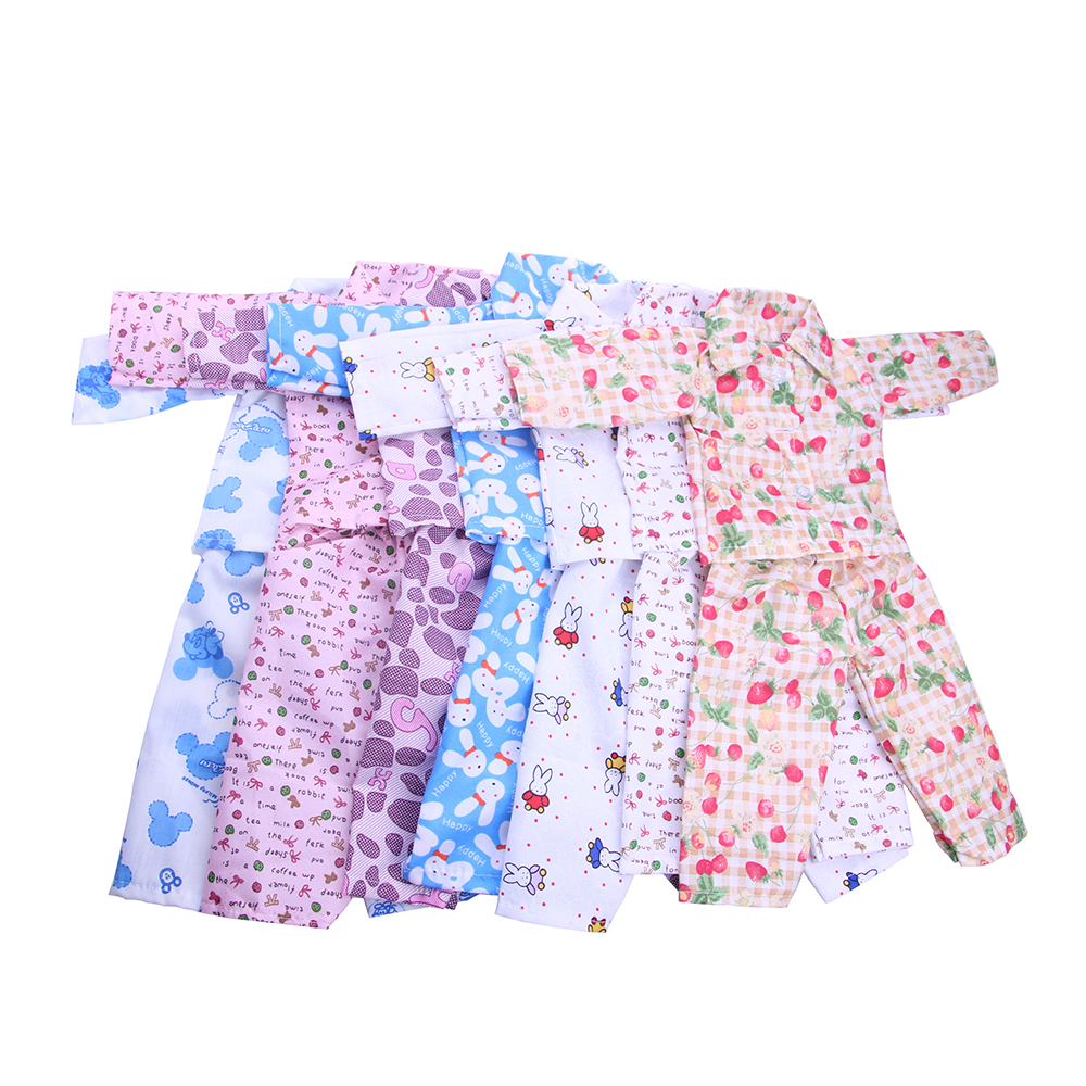 new style of the 7 kinds of color pajamas for the 18 inch American Girl Doll &Our generation  doll accessories n588-n594