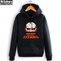 Attack On Titan Hoodie Jacket Shingeki No Kyojin Winter Coat Cosplay Eren Levi Hoodie Sweatshirt Men
