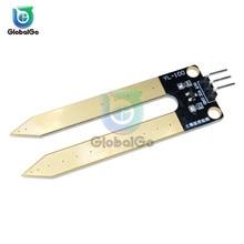 YL-100 3Pin почвы сырость влажность Сенсор Тесты местер зонд и гигрометром декоративные часы для садовое растение датчик влажности Инструменты для Arduino