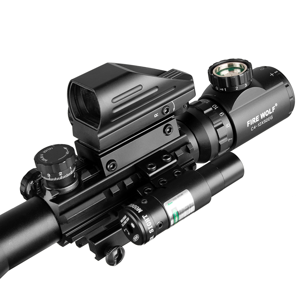 Tactical rifle scope 4