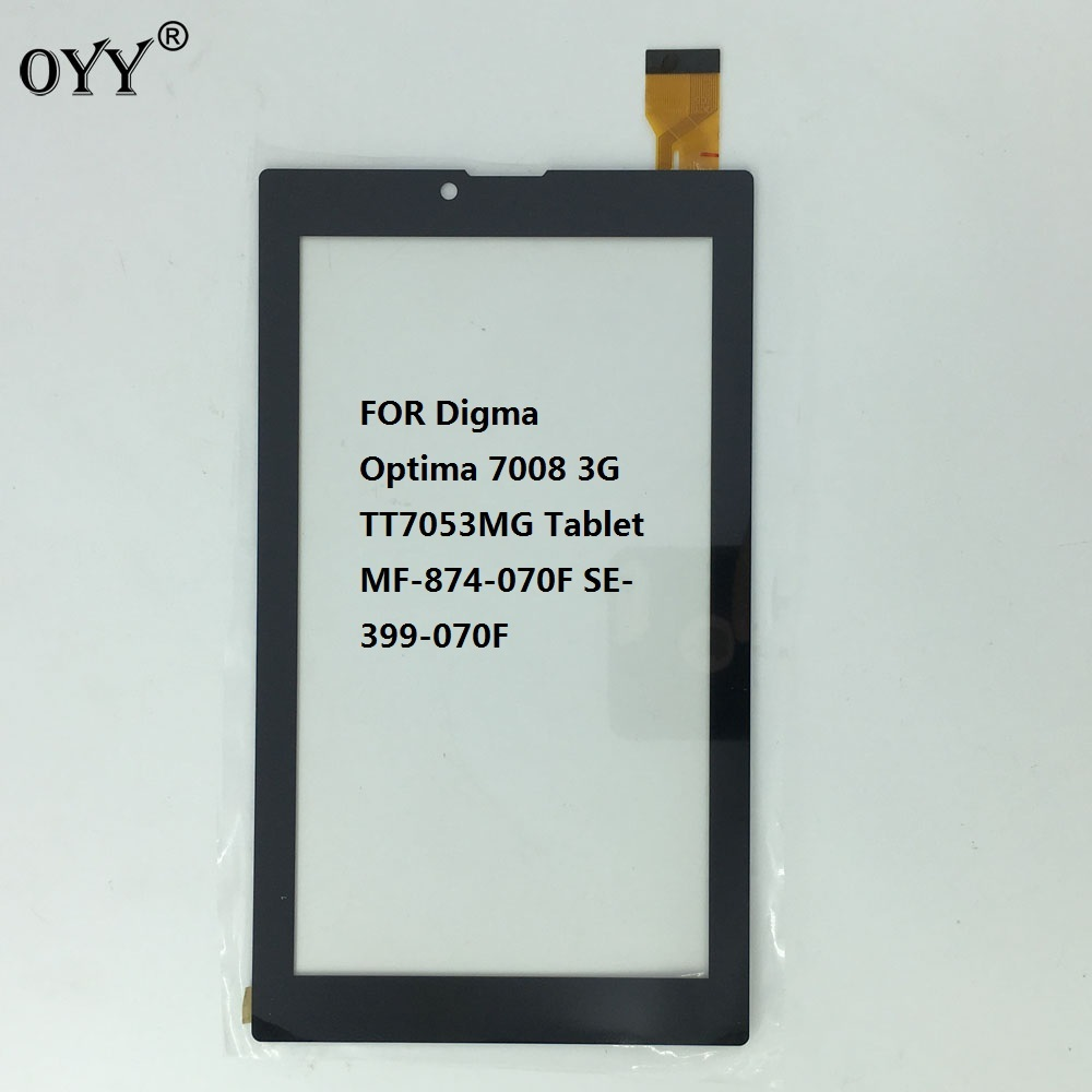 7'' inch Touch Screen Panel Sensor For Digma Optima 7008 3G TT7053MG Tablet MF-874-070F SE-399-070F a 7 inch touch screen panel sensor for digma optima 7 21 3g tt7021pg fpc fc70s706 01 yld ceg7253 fpc a0