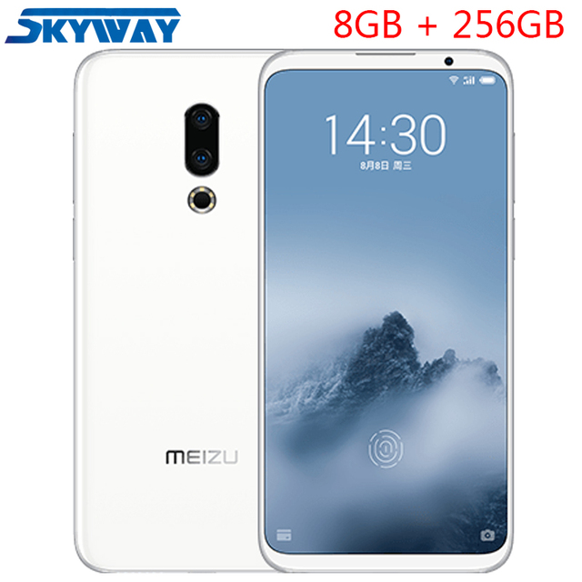 "Original Meizu 16th Plus 4G LTE Snapdragon 845 Octa Core Adreno 630 8GB RAM 256GB ROM 6.5"" FHD 2160x1080P Full Screen Cell Phone"