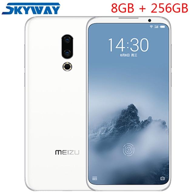 "Original Meizu 16th Plus 4G LTE Snapdragon 845 Octa Core Adreno 630 8GB RAM 256GB ROM 6.5"" FHD 2160x1080P Full Screen Cell Phone"