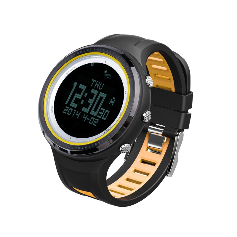 SUNROAD FR800NB Outdoor Sports Men Watch-Stopwatch Digital Altimeter Barometer Compass Pedometer Watch Men Clock For Sports Fan sunroad 2018 new arrival outdoor men sports watch fr851 altimeter barometer compass pedometer sport men watch with nylon strap