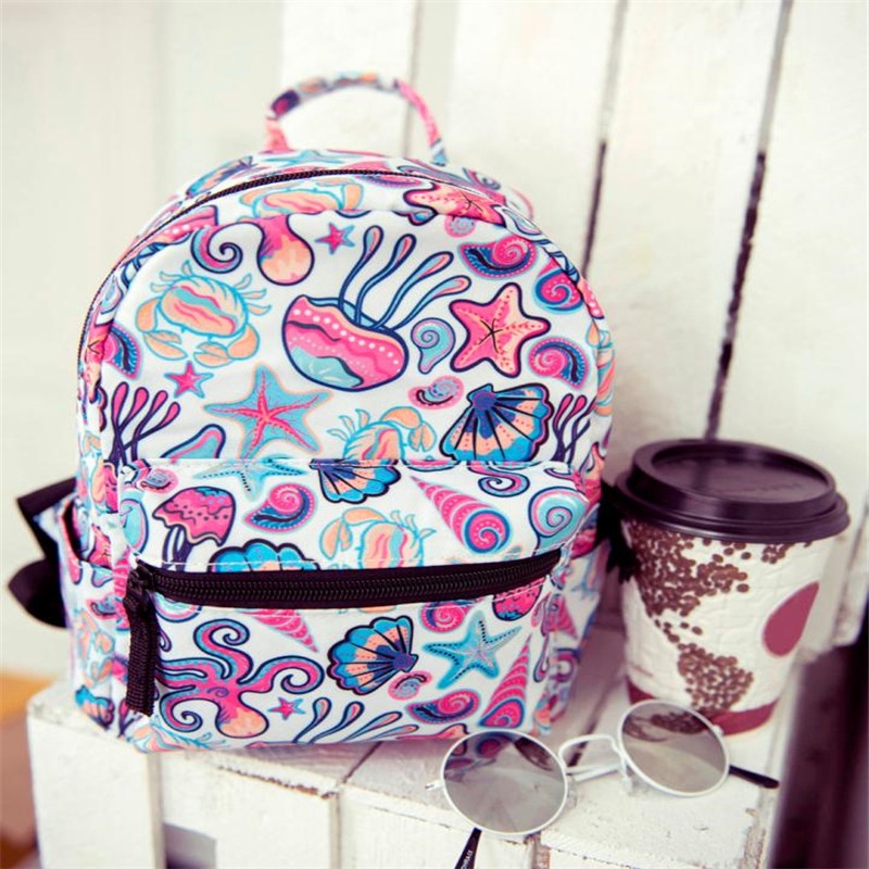 Xiniu Child Print backpack children bags kids rucksack 2018 School Bag for girls boys backpacks school bag travel backpacks#W
