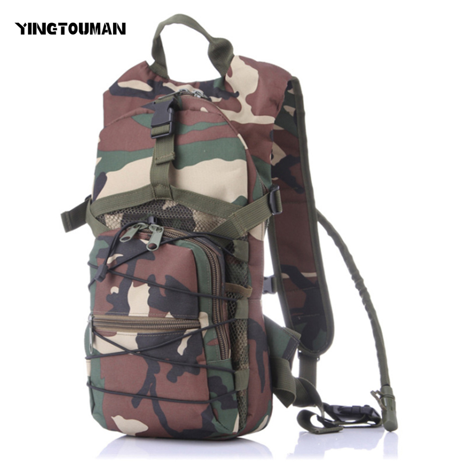YINGTOUMAN Molle Military Tactical Camouflage Backpack Army Hiking Camping Sport Bags Outdoor Waterproof Climbing Bag