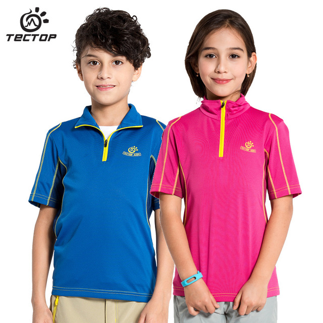 New 2016 summer children's kids t shirts high quality brand design for baby boys girls tops tees ventilate quick dry t shirts