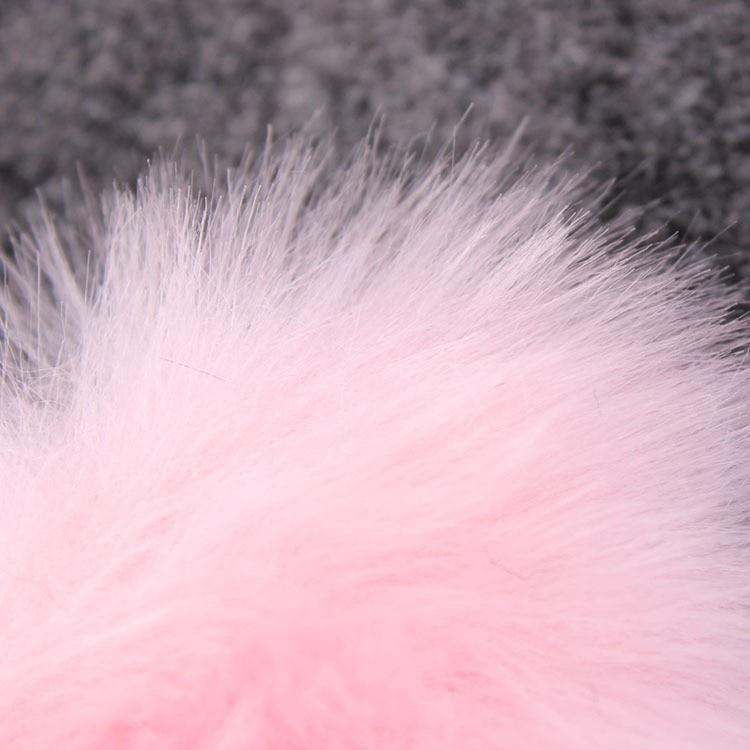 3 pcs Baru Lahir Kristal Batu Bando Busur Besar Bulu Kelinci Bando - Aksesori pakaian - Foto 6