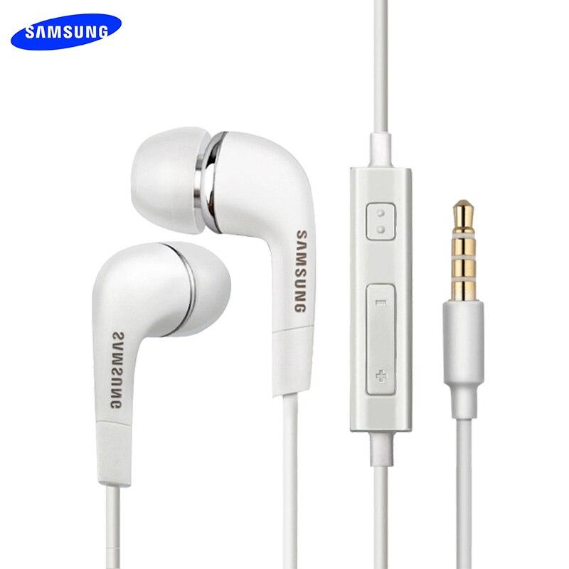 Original Samsung Earphone Bass Earbud Mic/Volume Control For Galaxy S6 S7 Edge S8 S9 S10 Plus J4 J6 A3 A5 A7 A10 A30 A50 A70 M30