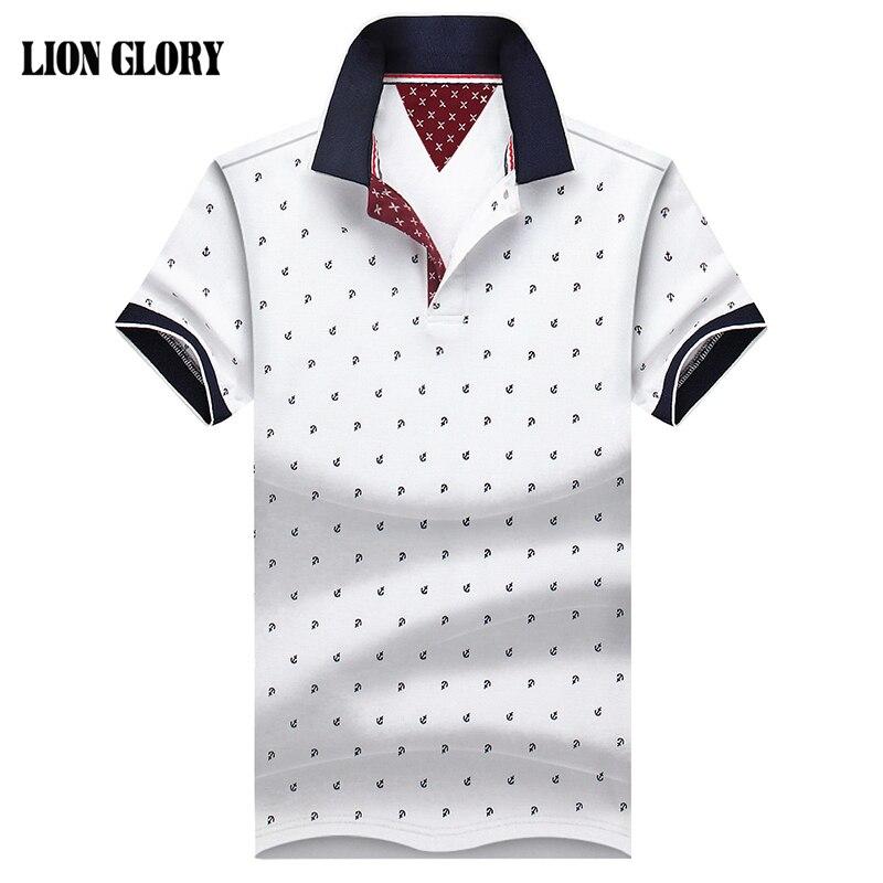 Homens Marca POLO Camisa-Manga Curta Camisas de Marca Polo para Os Homens de Algodão Respirável Dos Homens do Polo de Manga Curta-4XL vendas Direto Da fábrica