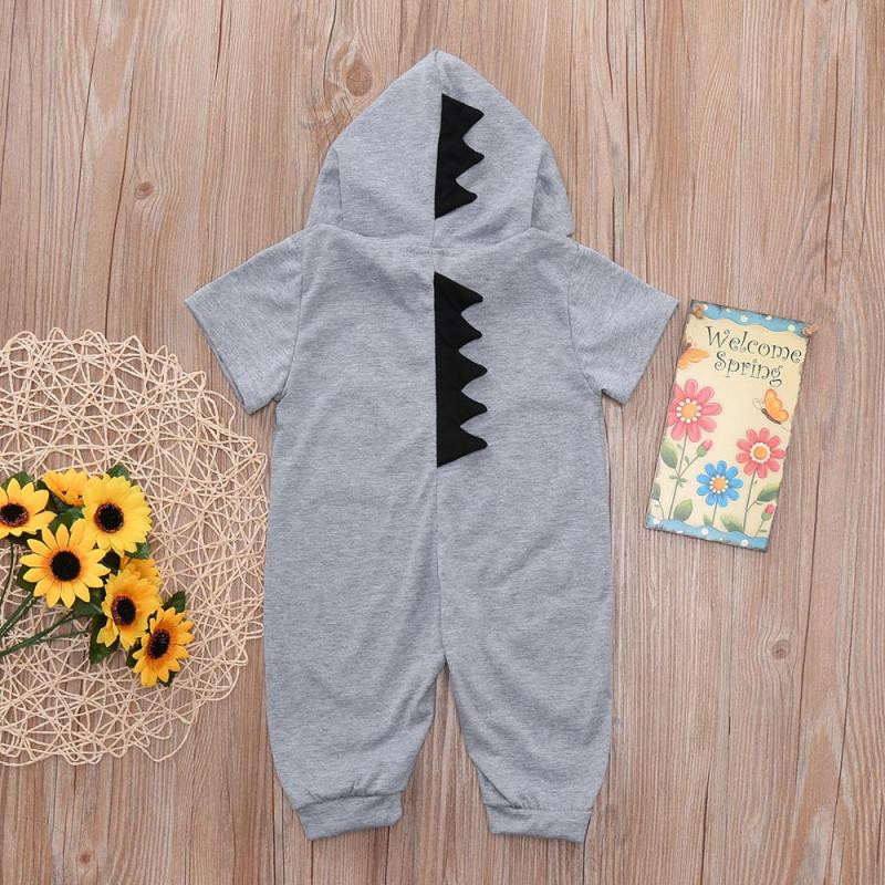 e37cc3f3dd9 cute onesie baby Newborn Infant Baby Boy Girl halloween costume Dinosaur  Hooded Romper Jumpsuit Outfits Clothes 2018 ropa ninas-in Rompers from  Mother ...