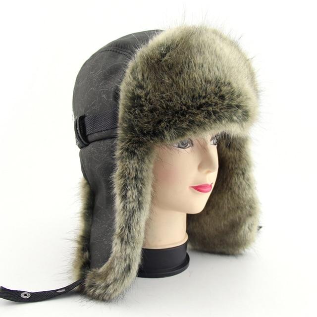 Comprar ahora BFDADI invierno cálido prueba Trapper sombrero 2018 ... 8e3f54de9fb3