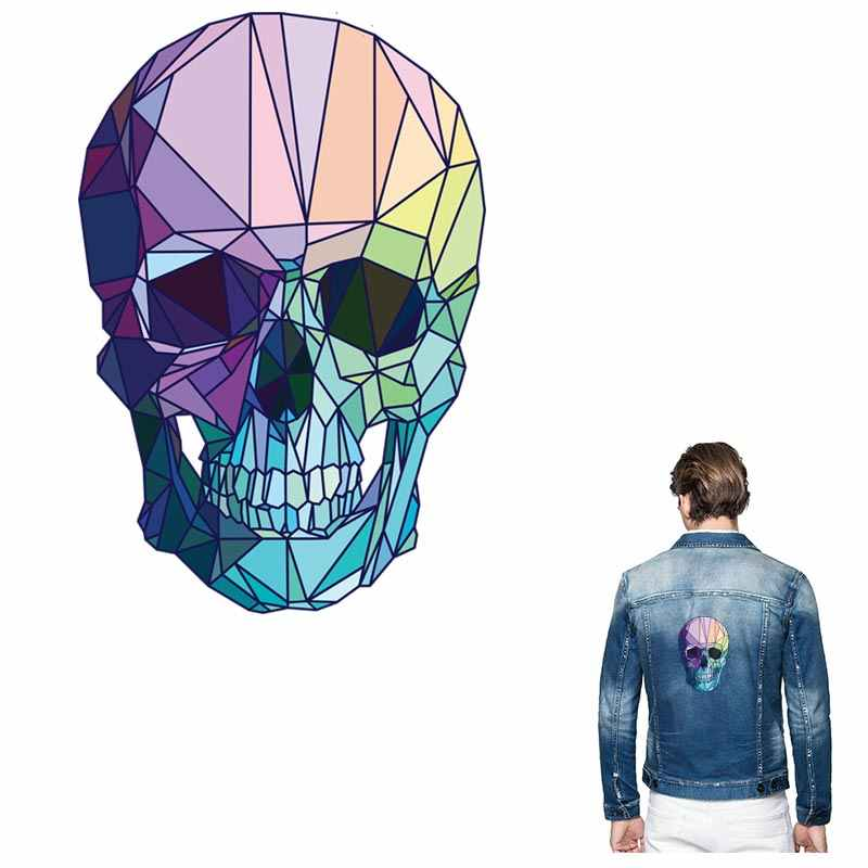 ONESAID, новый дизайн, нашивки с черепами для курток, крутая нашивка для Глажка одежды, нашивки для украшения одежды, S-028