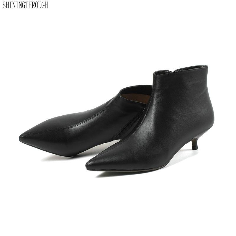 De 41 4 Cm Zapatos Cuero negro Tacones 43 Vestido Genuino Negro Tamaño Tobillo Boda Mujer 42 Beige La Beige Nuevo Led Oficina Botas Fiesta EtPqHwt