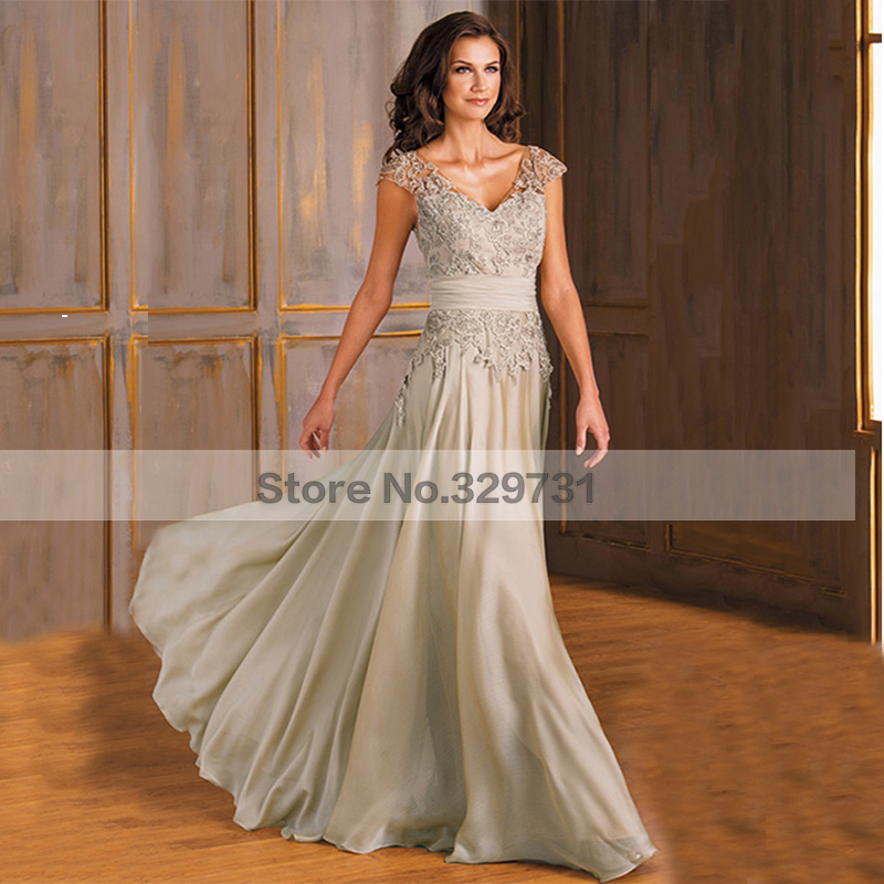 Brides mother dresses for weddings champagne evening dress for Dresses for afternoon wedding