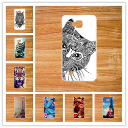 На Алиэкспресс купить чехол для смартфона hot selling cute painting diy hard plastic cover for zte blade a5 phone colorful protective back cases for zte a5
