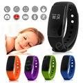 1 ШТ. Bluetooth Smart Watch Сердечного Ритма Калорий Монитор Сна Браслет Фитнес-Браслет Для Мужчин Женщин