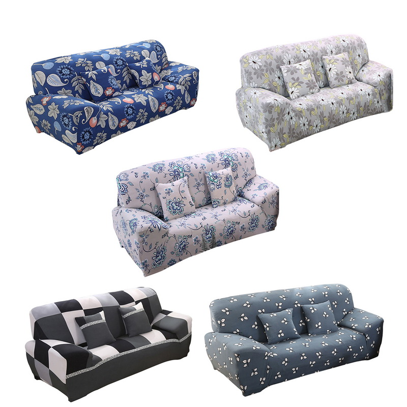US $4.87 23% OFF Urijk Home Modern Sofa Cover Flower Printing Cloth Pillow  Case Four Seasons Slipcover Sofa Universal Cover Set Household Textile-in  ...