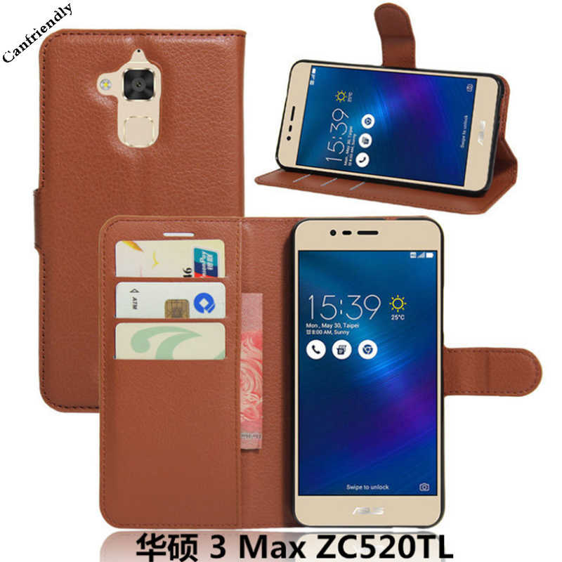 Coque for Asus Zenfone 3 Max ZC520TL Case Leather Soft Silicone Back Cover for Funda Asus Zenfone 3 Max ZC520TL ZC553KL ZC 520TL