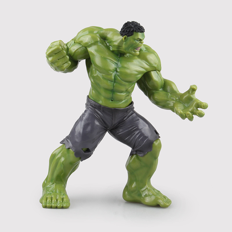 Super Hero The Avengers Big Size 26cm PVC Green Hulk Action Figures Toy Joints Movable Best Christmas Birthday Gift new hot 22cm avengers super hero hulk movable action figure toys christmas gift doll with box