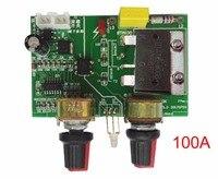 Spot Welding Machine Control Panel Time Relay Adjustment Time Of Current Transformer Spot Welder 100A SCR