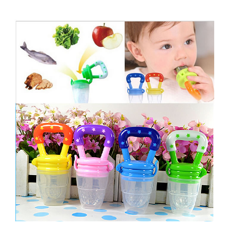 feeding bottle Chupetas para bebe Baby Food feeder Soother Chupetes Processador Silica gel Nipple Pacifier clips attache sucette