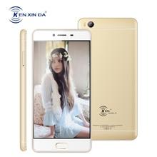 Kenxinda V7 4 г LTE смартфон 5.0 дюймов отпечатков пальцев Android 6.0 4 ядра 2 ГБ Оперативная память 16 ГБ Встроенная память 8MP двойной Мобильные SIM-карты Moible телефоны