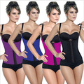 Latex Rubber Women Cheap Shapewear  Body Shaper Size Cincher Waist Underbust Corset Plus