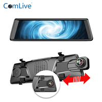 Camlive V6 car dash camera DVRs 10 3G dual cams HD1080P rearview mirror car DVR recorder GPS navigation rearview DVR two cams