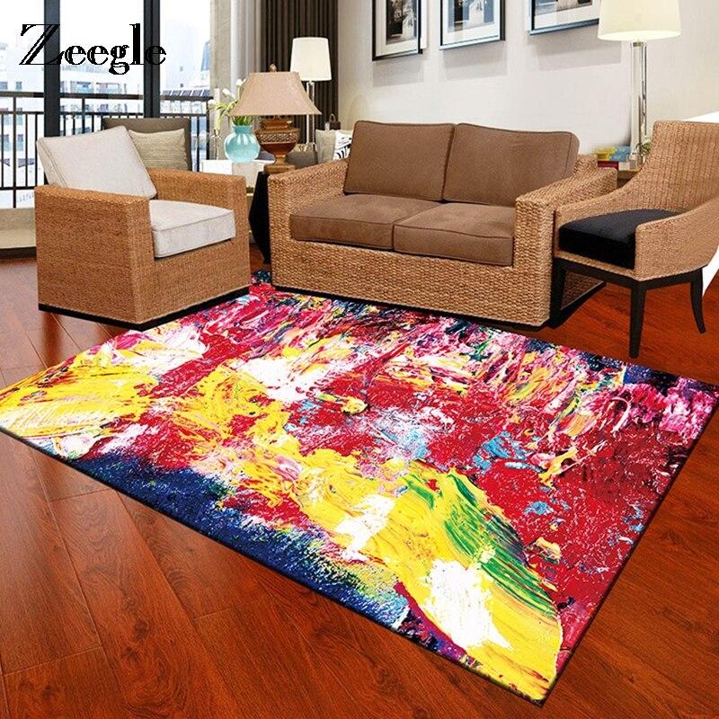 Zeegle Living Room Carpet Floor Mat Sofa Chair Beside Mat Bathroom Bath Mat Kid Bedroom Rugs Office Chair Beside Mat