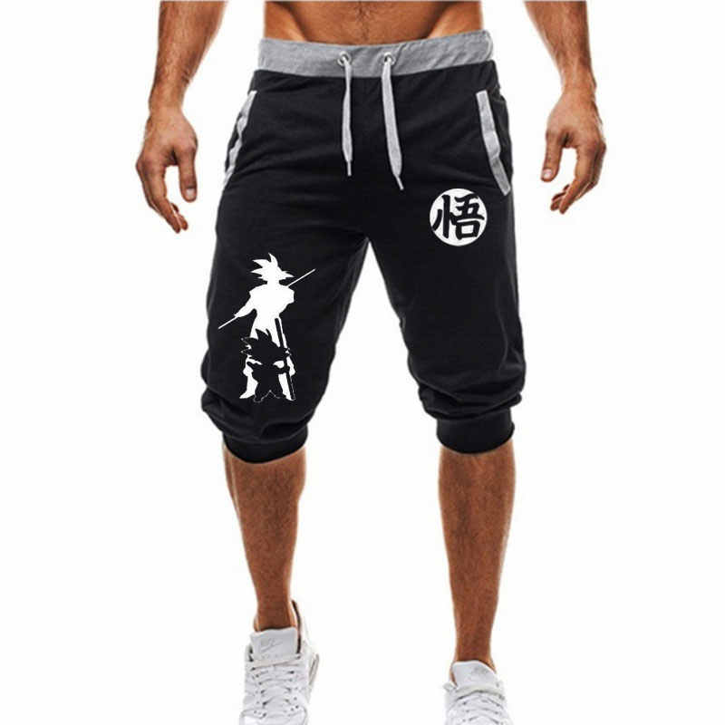 Dragon Ball Z Short Son Goku ANIME Men/'s Fitness Sport Gym Active Short de survêtement