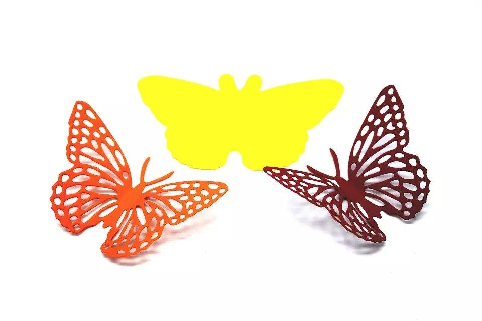 DIY Scrapbooking Die Cutter Scrapbooking Alba Die Cut Dutý motýl Dekorativní kovová řemesla Dies Butterfly Dies Cutting