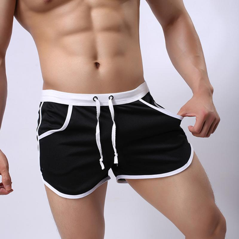 2019 New Style Mens Fitness Shorts Summer Shorts Casual Gyms Bodybuilding Beach Shorts Short Pants Brand Sweatpants