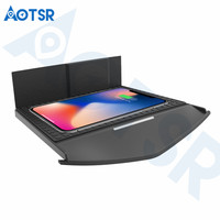 Aotsr Wireless car charger for Cadillac XTS/ATS 2017 2019 Intelligent Infrared Fast Wirless Charging Car for Phone/Sumsang/Nokia