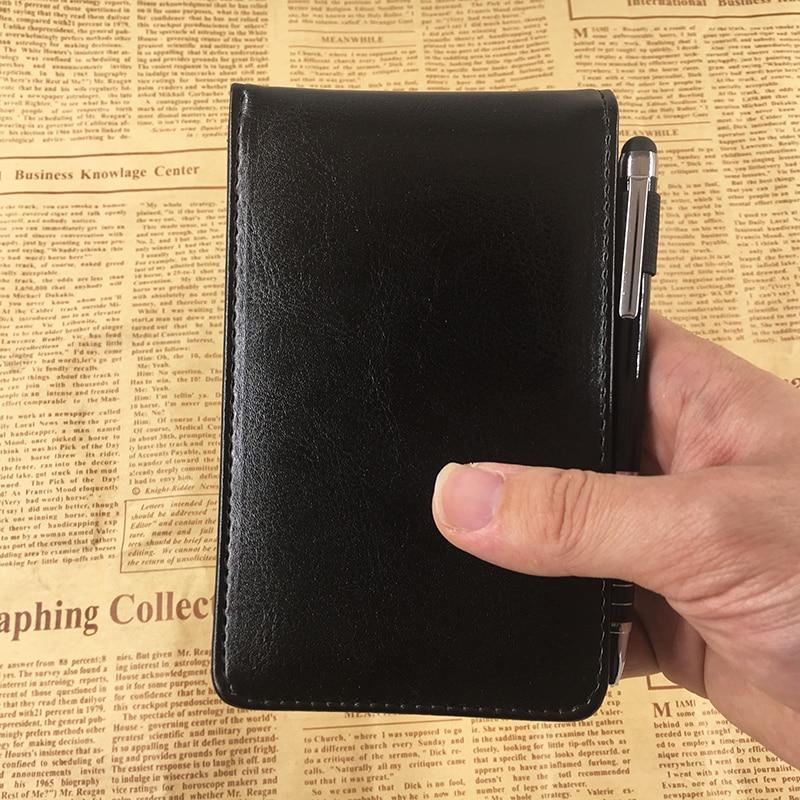 RuiZe Multifunctionele kleine notebook A7 planner lederen zak - Notitieblokken en schrijfblokken bedrukken - Foto 3