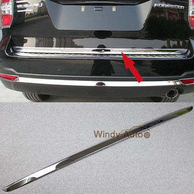 Fit For Subaru Forester 2015 2016 2017 Steel Car Rear Trunk Lid Tailgate Trim subaru traviq главный тормозной