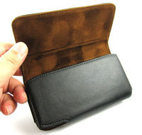 Genuine Leather Belt Clip Carrying Case Holster Pouch For Samsung Galaxy S3 S4